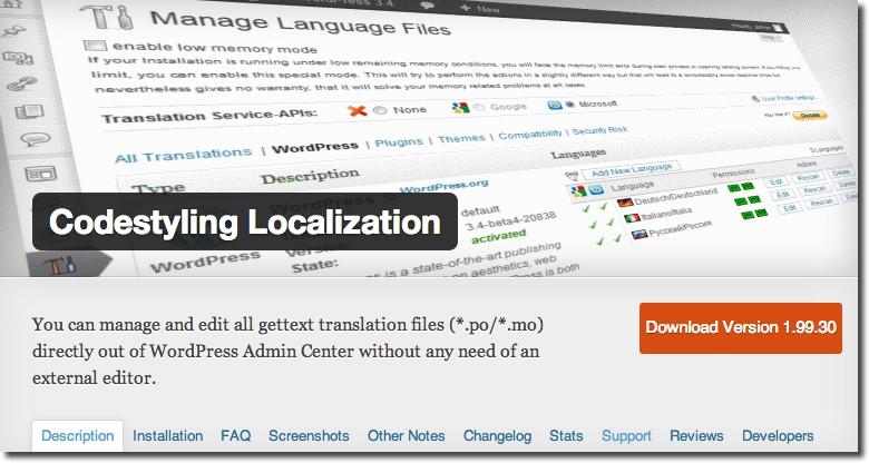 Codestyling-Localization-Plugin
