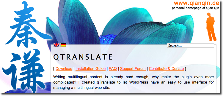 qTranslate-Wordpress-Plugin